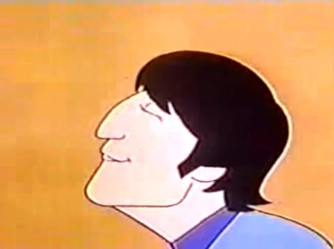 Plenty Of Nothing Cartoon Lennon