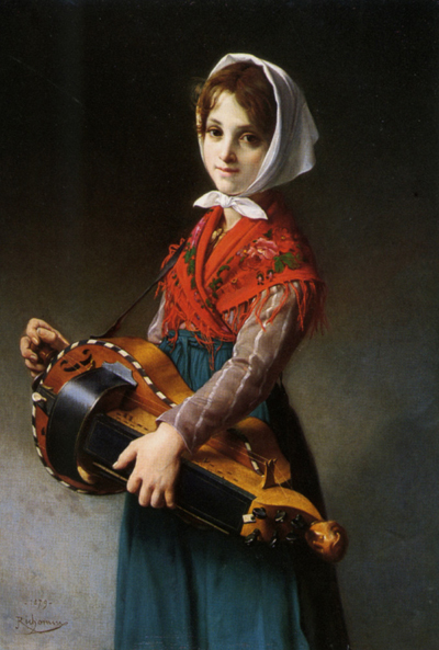 Richomme_Jules_The_Hurdy_Gurdy_Girl_1879_Oil_on_Canvas-large