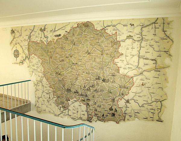 Saarlandwallmap