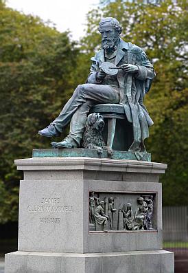 Maxwell-statue