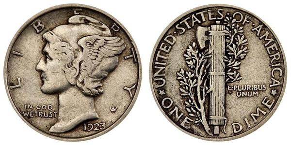 1923-mercury-dime