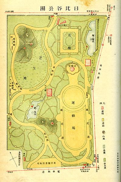 398px-Hibiya_Park_Map_1907