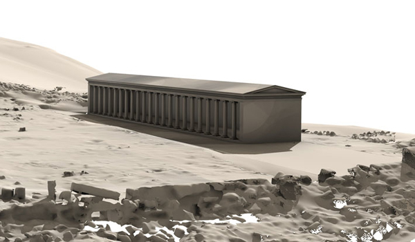 Stoa-Reconstruction